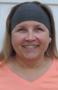 KK in Gray Ribbed Knit Headband