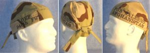 Bennie W Desert Camo Tail-less Do Rag Replacement