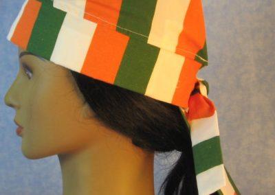 Do Rag in Ireland Flag Stripe - left