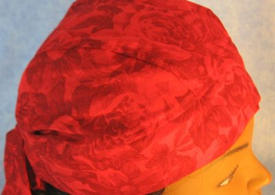 Do Rag in Red Roses and Flowers - top right