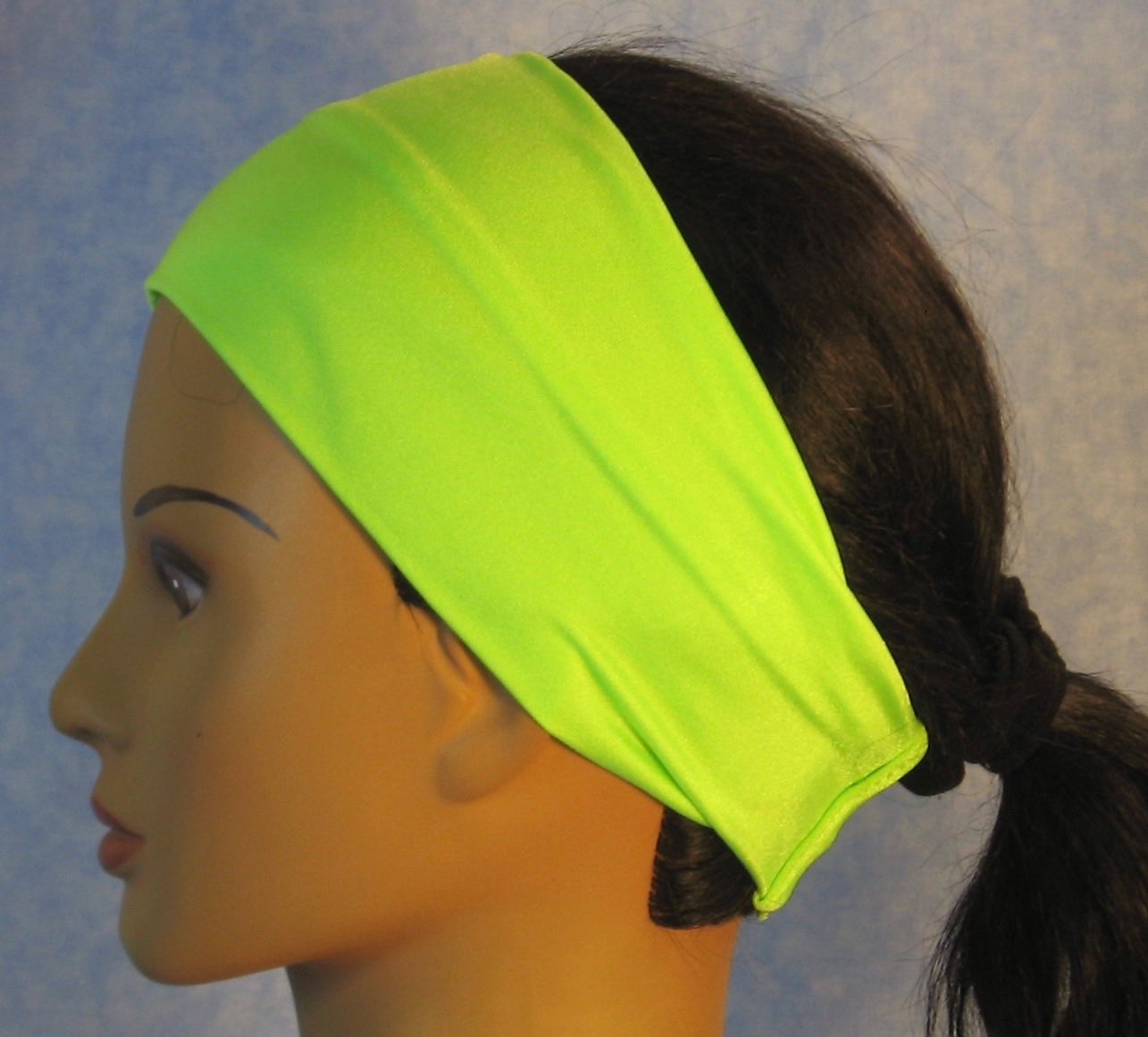 Headband-Lime Swim Knit-Adult M