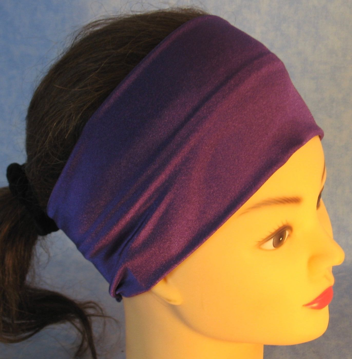 Headband-Purple Swim Knit-Youth S-M