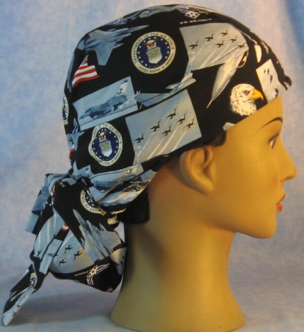 Hair Bag in US Air Force - right