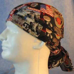 Hair Bag in US Marines - left