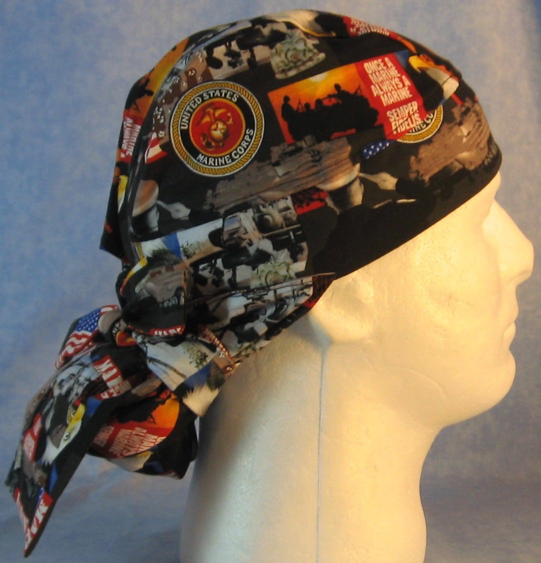 Hair Bag Do Rag in US Marines - Adult M-XL