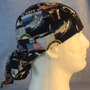 Hair Bag in US Navy - right