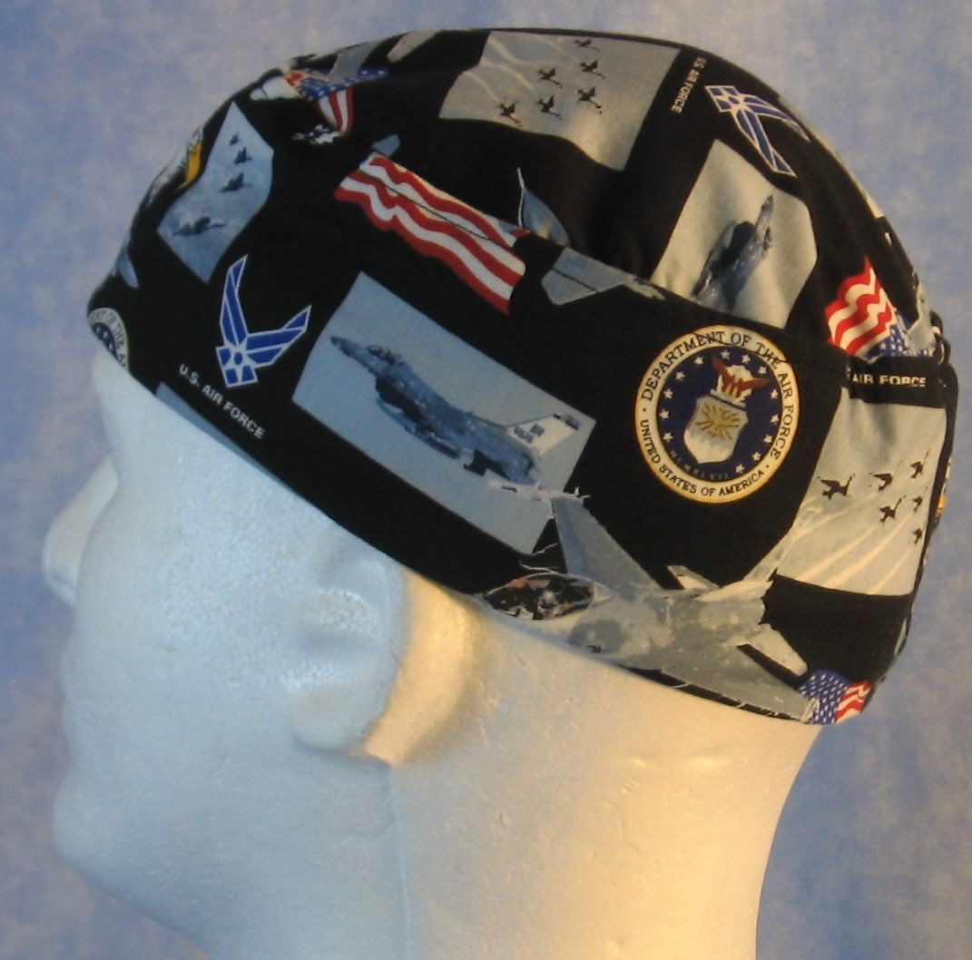 Skull Cap-US Air Force-Adult L