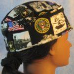 Skull Cap in US Army - right
