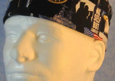 Skull Cap in US Navy - front