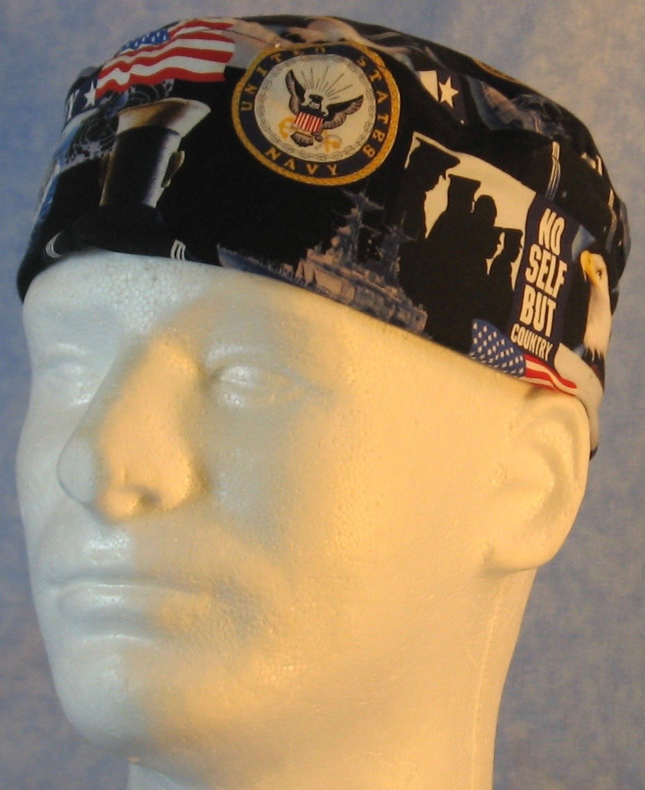 Skull Cap-US Navy-Adult M