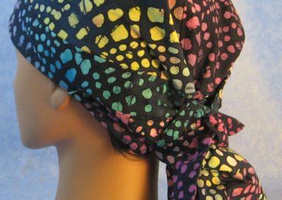 Deanna's Custom Batik Hair Stocking