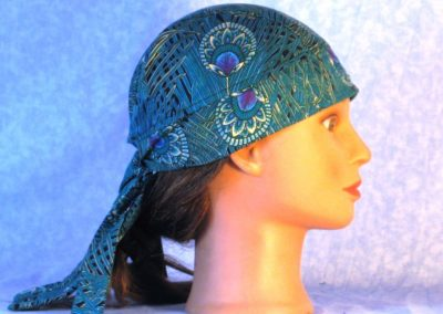 Do Rag in Emerald Peacock Plumes Grass - right