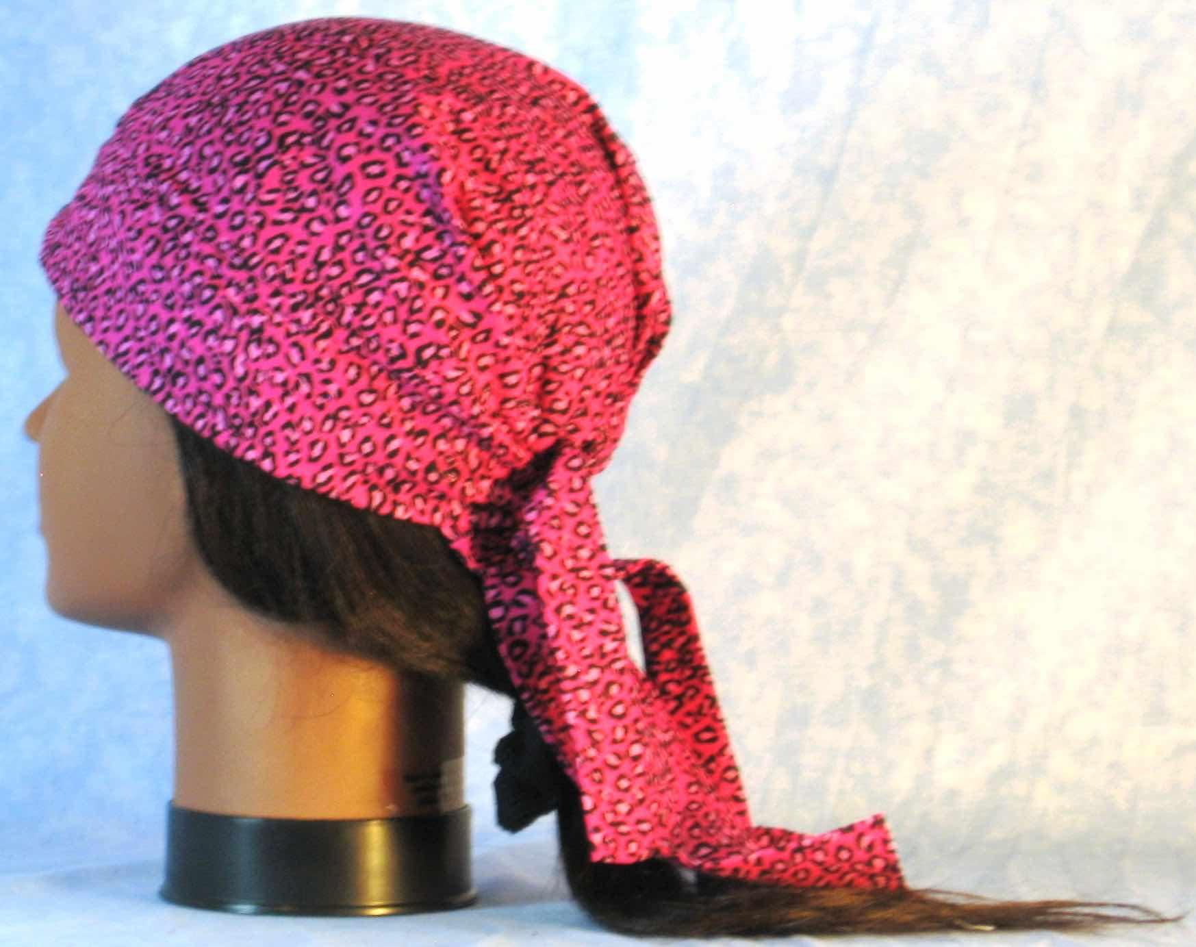 Do Rag - Pink Leopard-back