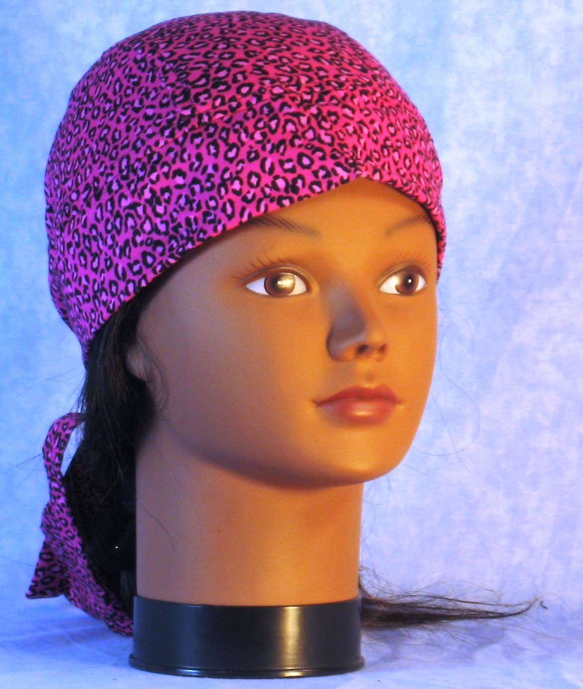 Do Rag in Pink Leopard-Adult 1XL-3XL