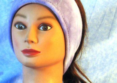 Ear Warmer in Lavender - front