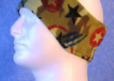Ear Warmer in Star Camo - left