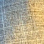 Flat Cap in Brown Stripe Suiting - closeup