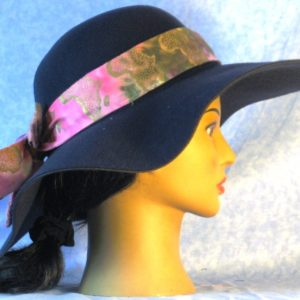 Hat Band in Ethnic Tie Dye Africa - right