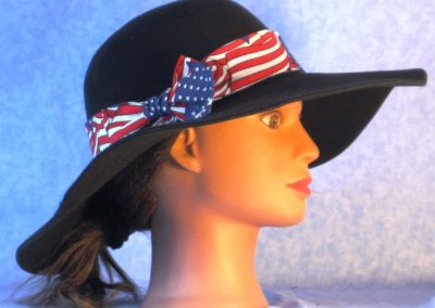 Hat Band in Flags Overall - right