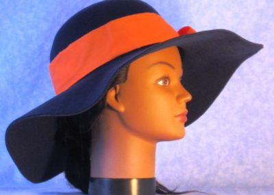 Hat Band in Orange - right