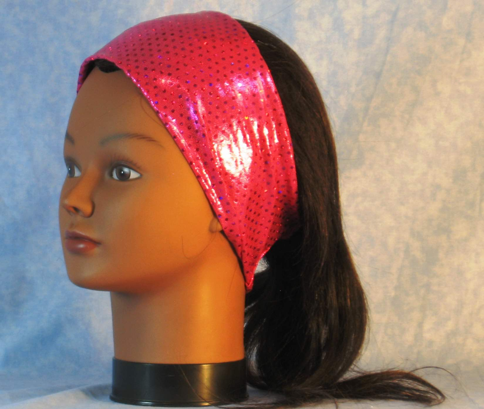 headband-hot-pink-dot-sparkles-left
