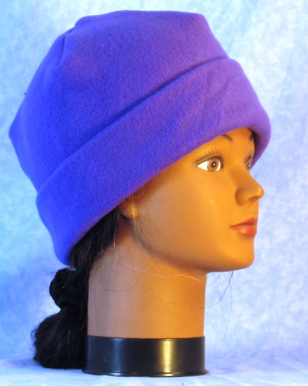 Long Hat in Royal Purple-Youth L-XL