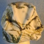 Newsboy Hat in Winter Camo - back
