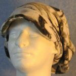 Newsboy Hat in Winter Camo - front