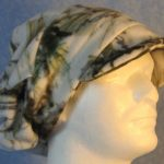 Newsboy Hat in Winter Camo - right