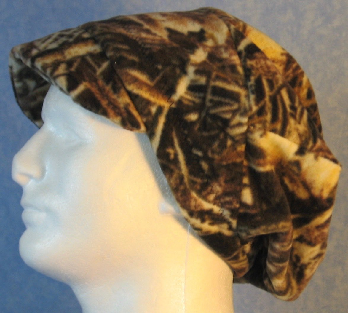 Newsboy Hat in Wood Twig Seed Camo-Adult L
