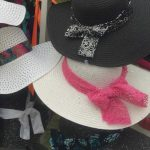 Wamego Tulip Festival Pink Mesh Net Hat Band