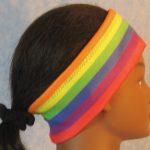 Ear Warmer - Rainbow Flag - right