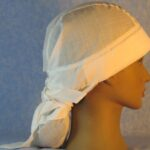 Hair Bag in Natural Nomex - right