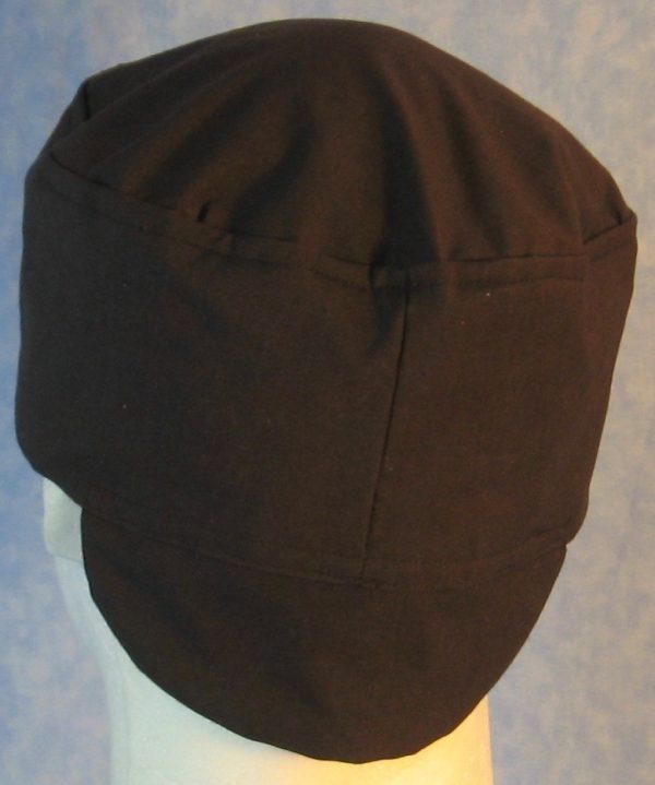 Welding Cap in Black-back back