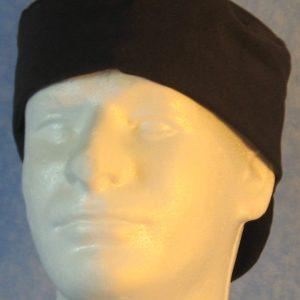 Welding Cap in Black-back front