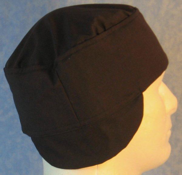 Welding Cap in Black-side side