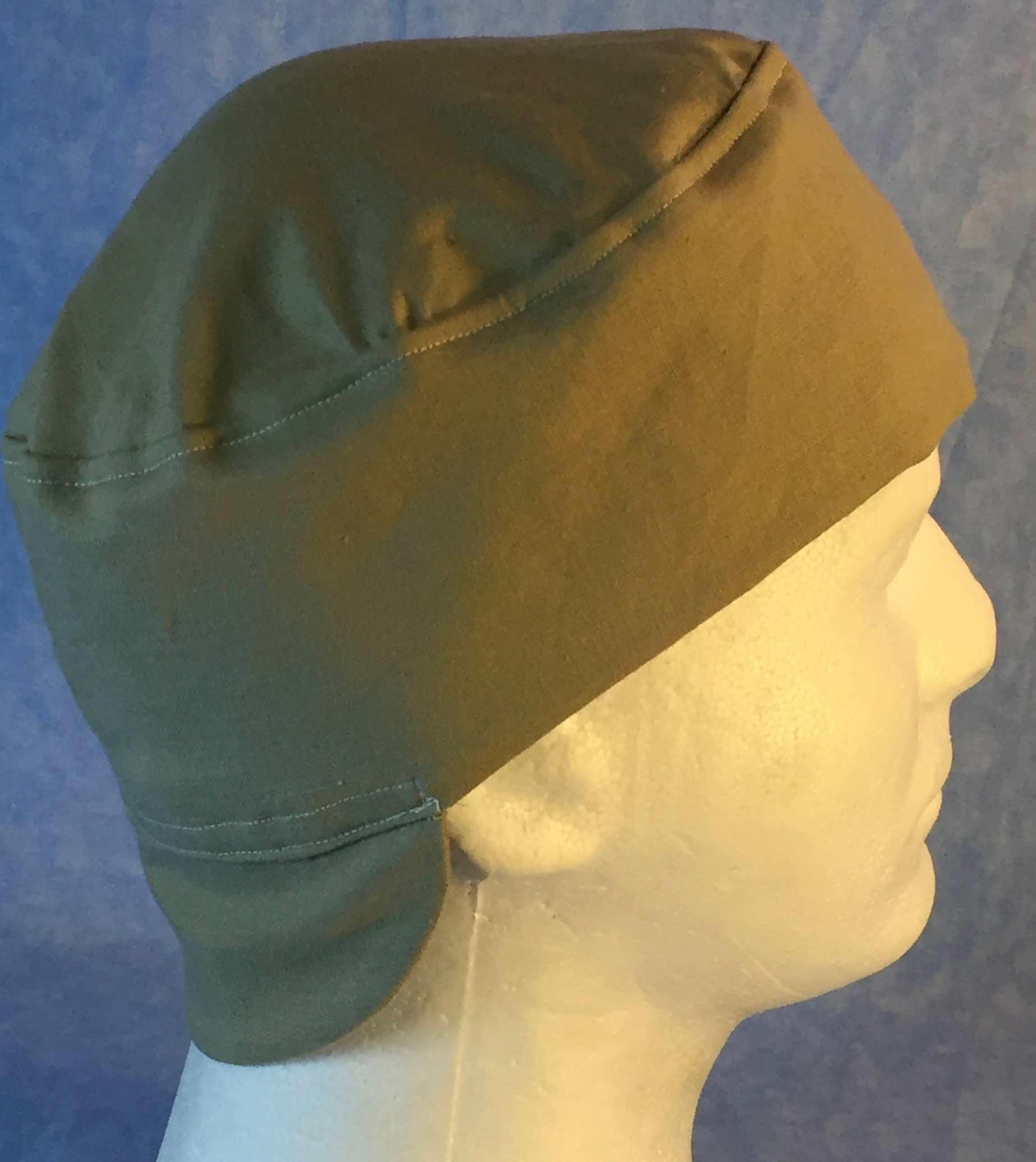 Welding Cap-Khaki-Adult L