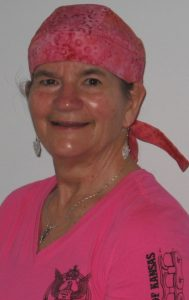 Becky Rawls-Riley in Pink