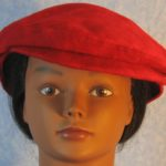 Flat Cap in Red Motley Flannel - front