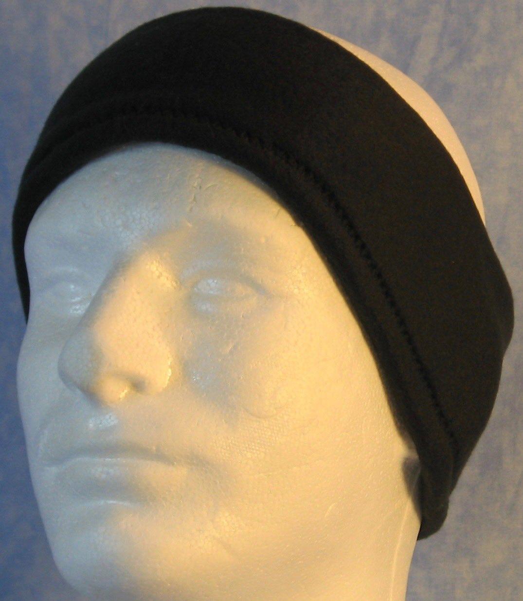Ear Warmer in Black-Adult M