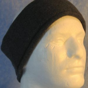 Ear Warmer in Dark Gray-front right