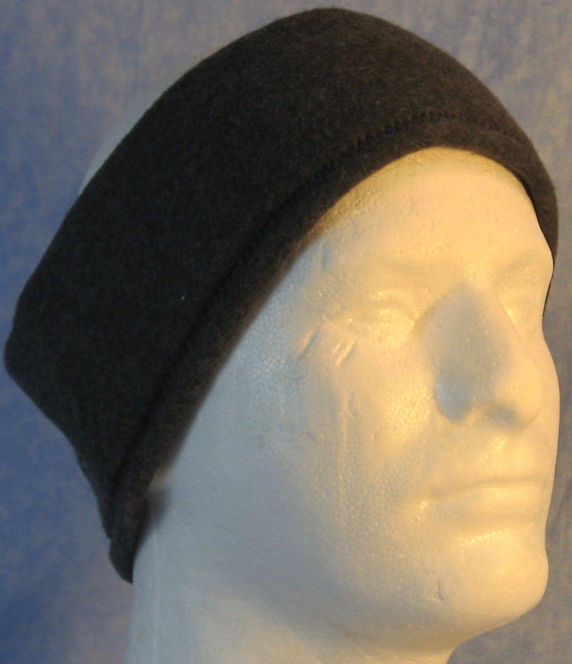 Ear Warmer in Dark Gray-Adult L