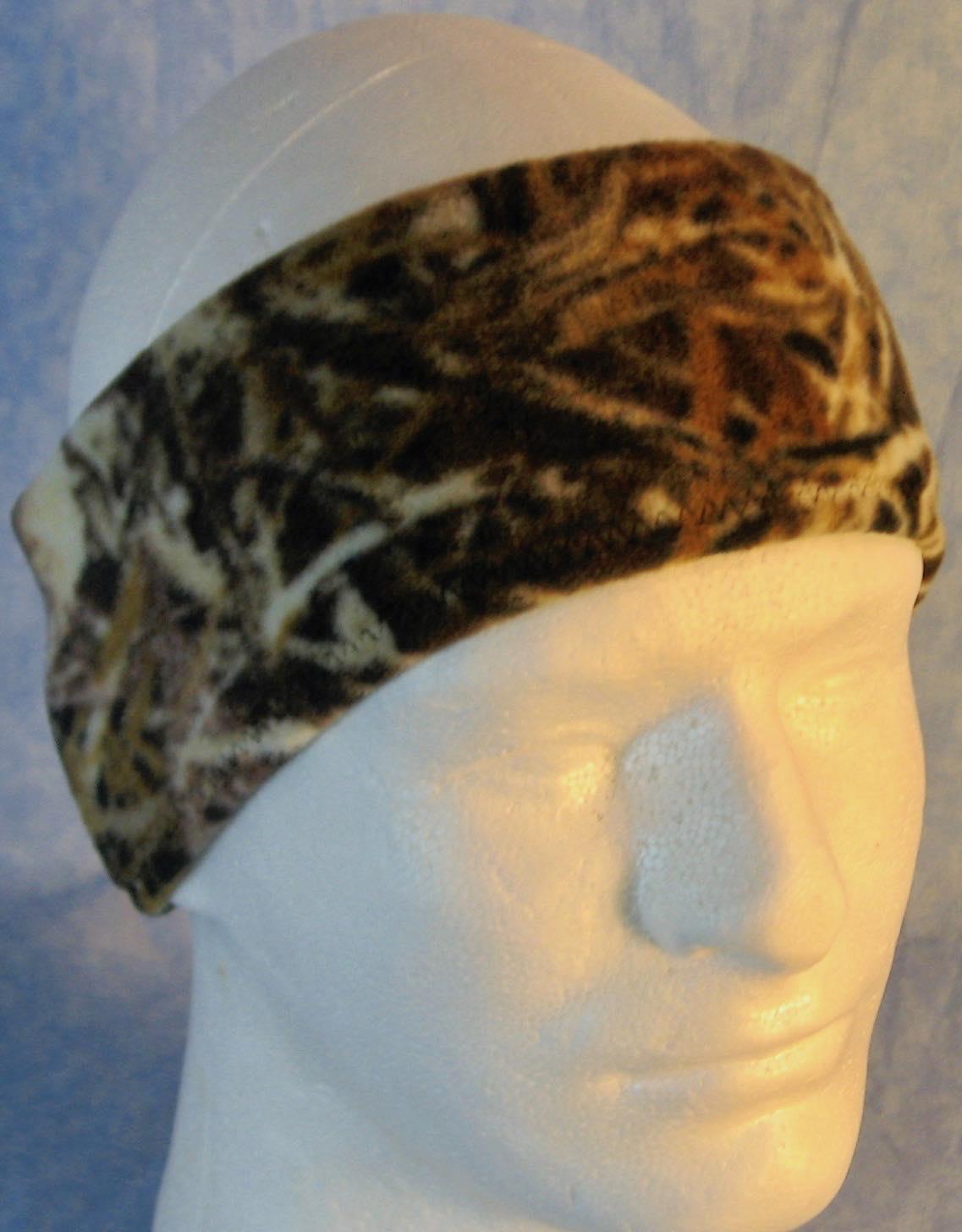 Ear Warmer in Wood Twig Seed Camo-Youth L-XL