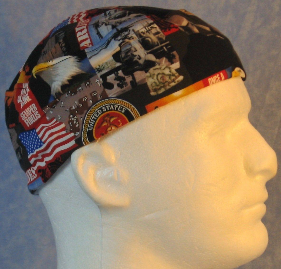 Skull Cap-US Marines-right