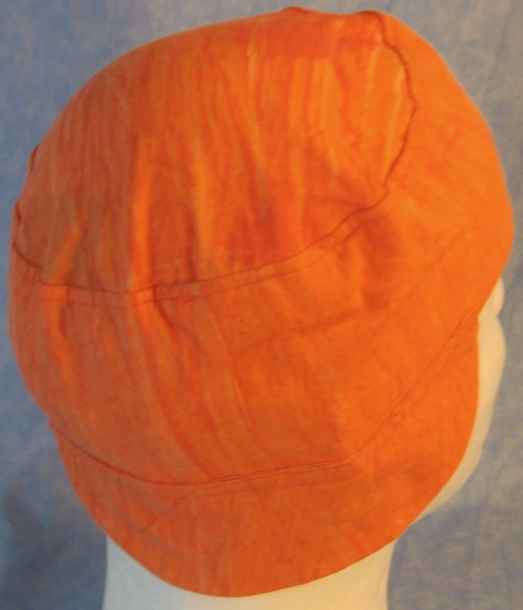 Welding Cap-Orange Sherbert-Adult M