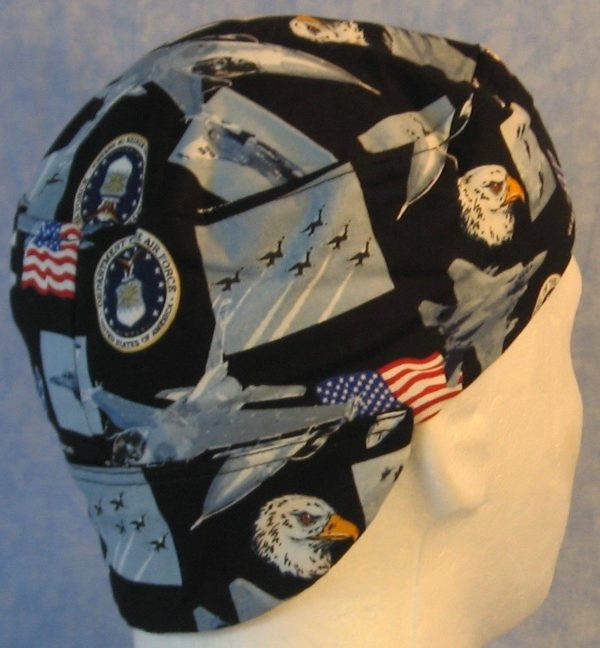 Welding Cap in US Air Force-back