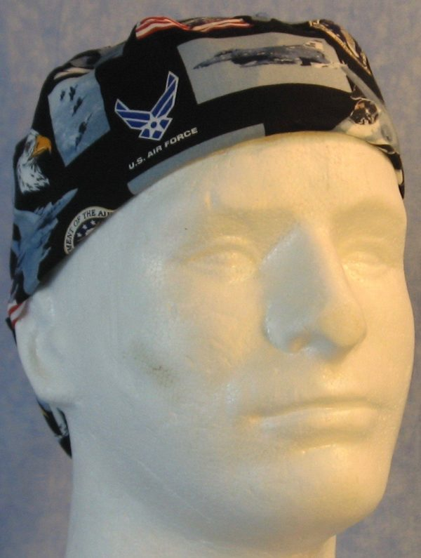 Welding Cap in US Air Force-front