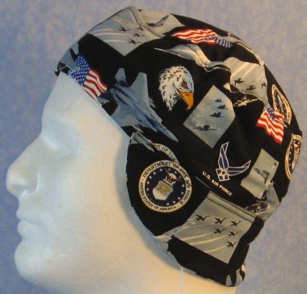 Welding Cap in US Air Force-side
