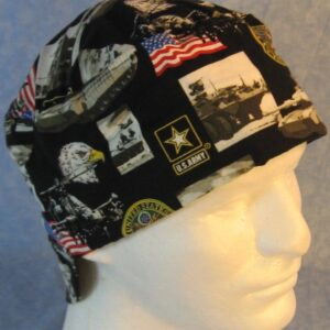 Welding Cap in US Army-front top