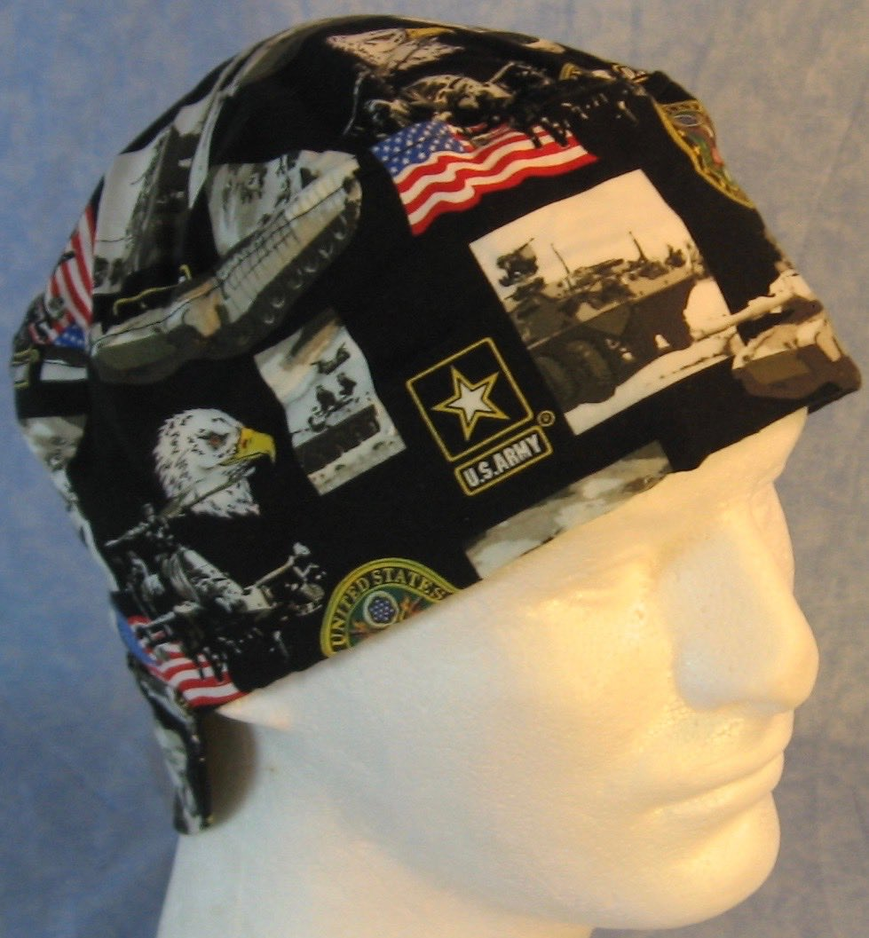 Welding Cap-US Army-Adult 1XL